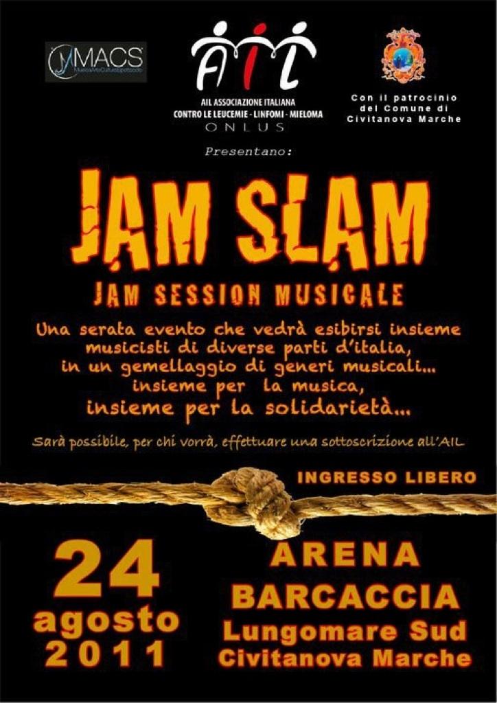24 Agosto 2011 siamo all'Arena Barcaccia di Civitanova Marche per Jam Slam 2011